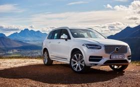 Обои Volvo, XC90, вольво, 2015, ZA-spec, Momentum