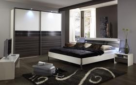Обои дизайн, стиль, комната, интерьер, спальня