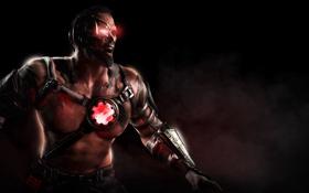 Картинка Смертельная битва, Kano, Mortal Kombat X, Кано