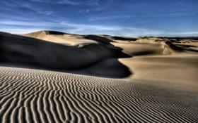 Картинка песок, природа, ветер, холмы, пустыня, пейзажи, африка