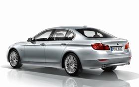 Картинка обои, бмв, BMW, автомобиль, задок, Sedan, 535i
