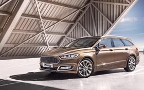 Обои Ford, форд, универсал, мондео, Mondeo, 2015, Turnier