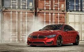 Обои BMW M4, BMW, Forza Motorsport 6, красный