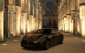 Картинка Maserati, GT5, Аббатство Сан-Гальяно