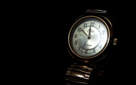 Обои Часы, Watch, Luch, 16 jewels