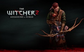 Обои игра, rpg, the witcher 2, игра года, the witcher 2 assassins of kings, cd projekt ...