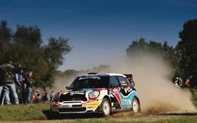 Картинка Авто, Спорт, Машина, Гонка, День, Mini Cooper, WRC