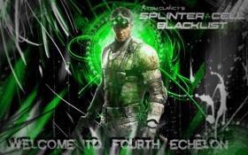 Картинка Сэм Фишер, Sam Fisher, черный список, Сплинтер Селл, блеклист, splinter cell: blacklist