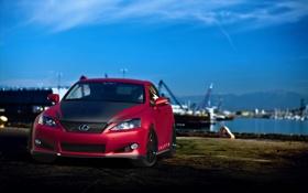 Картинка красный, Lexus, red, лексус, IS 350