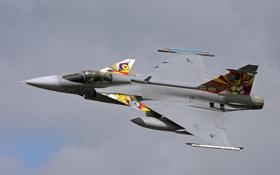 Картинка Saab, Czech Airforce, JAS-39C
