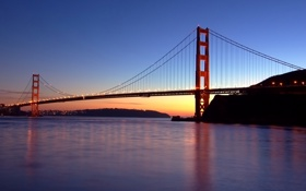 Картинка Golden Gate Bridge, California, San Francisco