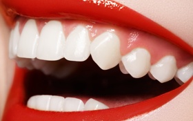 Обои smile, lips, teeth