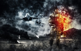 Обои Battlefield, Electronic Arts, EA Games, Soldier, Battlefield 4, BF4, vidoe games