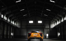 Картинка авто, машины, завод, Lexus, лексус, боксы, гаражи