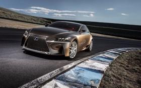 Обои Concept, Lexus, концепт, лексус, передок, LF-CC