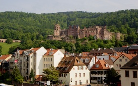 Картинка замок, здания, дома, Германия, Germany, Баден-Вюртемберг, Baden-Württemberg