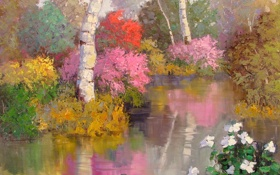 Обои арт, Serenity, Sean Wallis