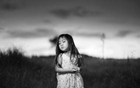 Обои настроение, портрет, девочка