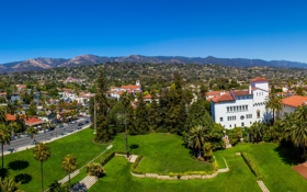 Обои City, USA, США, Santa Barbara, Санта Барбара.