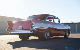 Обои стиль, классика, Chevy, 1957