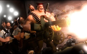 Картинка heavy, russian, war, Team Fortress 2
