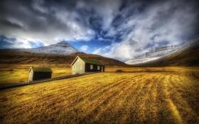 Картинка пейзаж, Sunrise, Faroe Island
