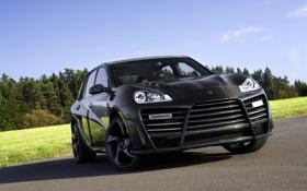 Обои Porsche, summer, mansory, carbon, Tuning
