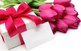 Обои тюльпаны, букет, цветы
