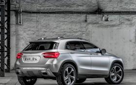 Обои Concept, Mercedes-Benz, концепт, мерседес, задок, GLA