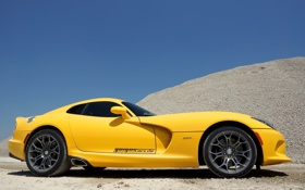 Обои Dodge, Viper, додж, вайпер, SRT, 2013, Geiger