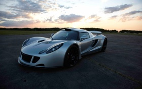 Обои машина, небо, обои, wallpapers, Hennessey, Venom GT