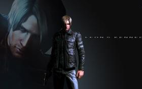 Обои оружие, pistol, Resident Evil 6, Leon Scott Kennedy, Biohazard 6