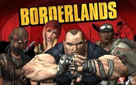 Обои Солдат, герои, Охотник, rpg, Borderlands, Сирена, Берсерк