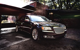 Обои Авто, Chrysler, Решетка, Капот, Крайслер, Седан, Фары