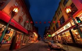 Картинка машины, улица, Китайский квартал