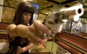 Картинка пушка, Alicia Keys, револьвер, алисия, пистулет
