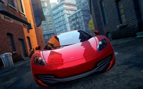 Обои art, need for speed, 2012, mclaren, mp4-12c, most wanted