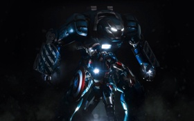 Обои Fantasy, Blue, Movie, Igor, Iron Patriot, Domination