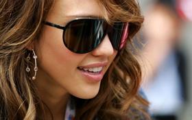 Картинка лицо, обои, модель, звезда, актриса, очки, красотка