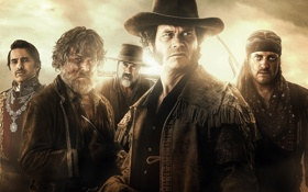 Картинка сериал, история, Восстание Техаса, Texas Rising