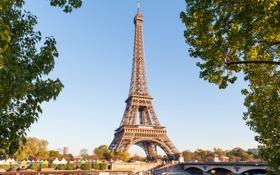 Обои Город, Архитектура, Париж