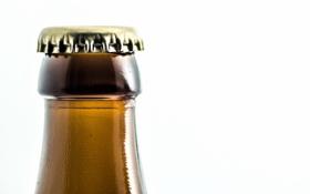 Обои макро, бутылка, крышка