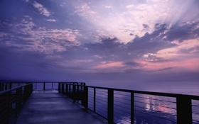 Обои море, небо, цвета, вода, солнце, облака, свет