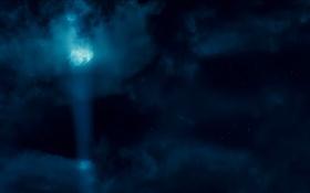 Обои Автоботы, ночь, небо