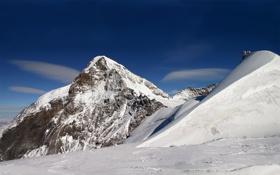 Обои зима, снег, горы, природа, фото, пейзажи, зимние обои