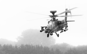 Обои вертолёт, Apache, ударный, AH-64, основной, «Апач»