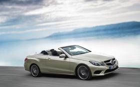 Картинка Mercedes-Benz, Авто, Машина, Мерседес, Кабриолет, e-class, Вид с боку