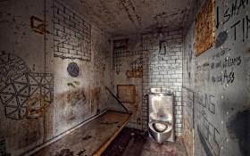 Обои интерьер, камера, тюрьма