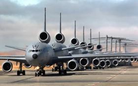 Обои авиация, аэродром, самолёты