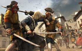 Картинка пират, ассасин, Эдвард Кенуэй, Assassin's Creed IV: Black Flag